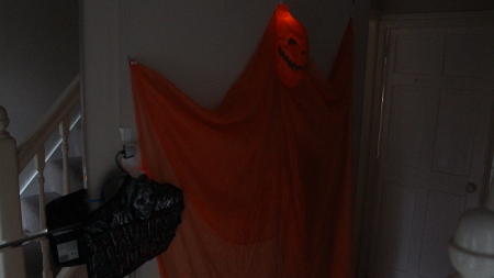 Halloween PIR Motion Sensor light