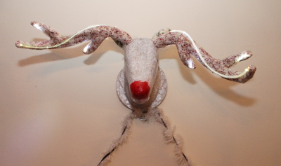 Reindeer head - Christmas decoration powered by the Raspberry Pi