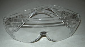 safety glasses / goggles required when using power tools