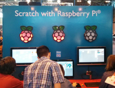 Scratch on Raspberry Pi at the Big Bang Fair