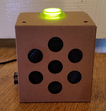Google AIY Cardboard voice recognition for the Raspberry PI