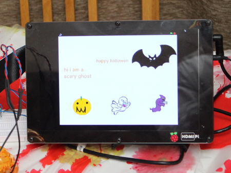 Raspberry Pi Makey Makey - Scary Pi-ano