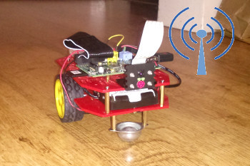 Raspberry Pi Wireless Robot