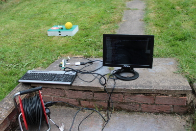 Raspberry Pi camera outdoor photo studio