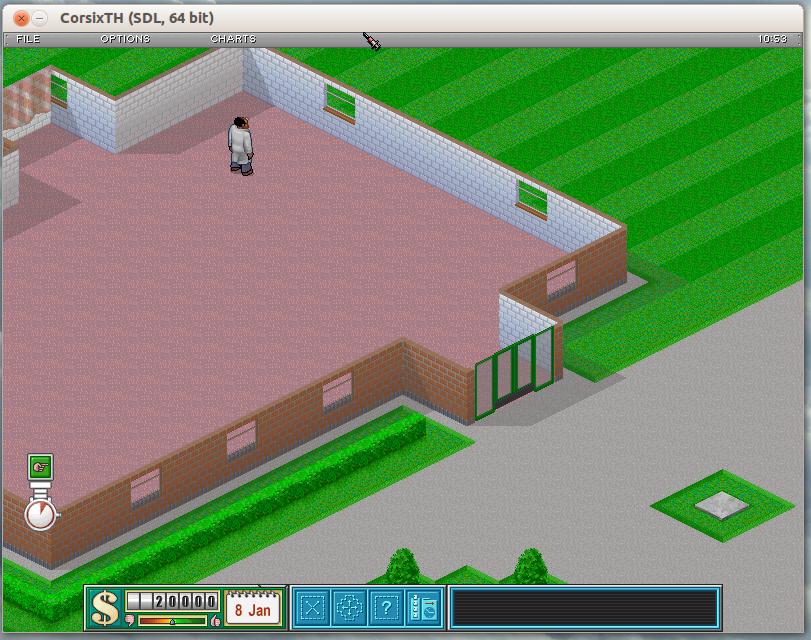 Theme Hospital game for Linux - CorsixTH