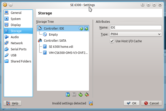 Virtual machine adding disk VirtualBox virtual machine manager