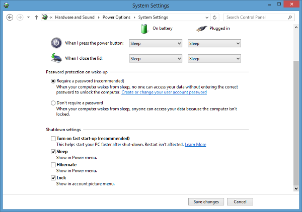 Windows 8 - disable fast startup option to avoid corrupt data