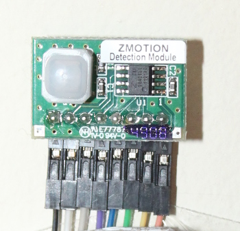 Zilog PIR sensor for the Raspberry Pi