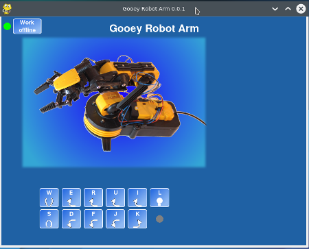 PenguinTutor - Robot Arm control software for the Raspberry Pi